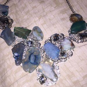 Blue Stone Jewelry - Brand New Handmade Natural Stone Necklace